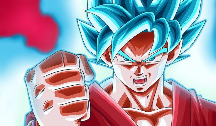 """Super Saiyan Blue Kaioken!"" By: NekoAR #SonGokuKakarot"