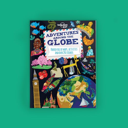 Lonely Planet Kids books and videos to learn about different countries