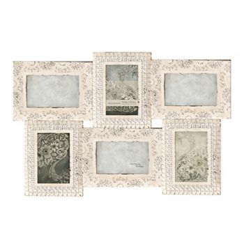 Belle Maison Rustic 6 Opening 4 X 6 Collage Frame Wall