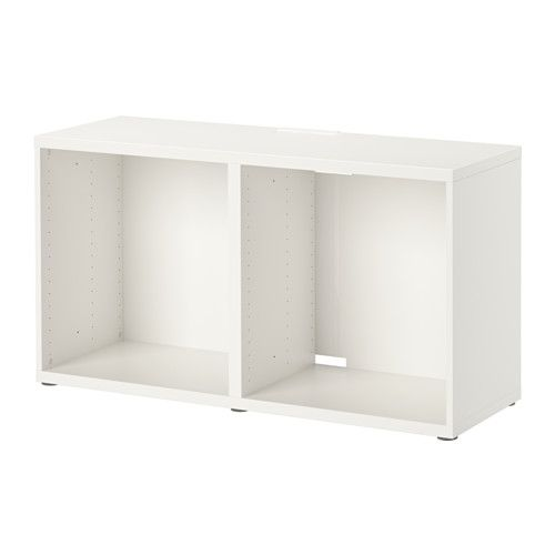 IKEA - BESTÅ, Móvel TV, branco, , Complemente com os organizadores de interior BESTÅ para ter tudo arrumado e organizado.