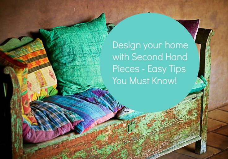Second hand furniture has character, is built to last a…