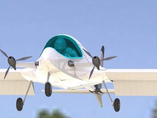 Emg 5 Ultralight Electric Experimental Aircraft Flight