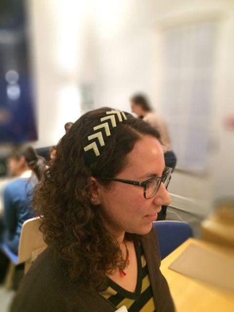 MCP Les Créa de Marie: Comment customiser un serre-tête pour les fêtes ? Atelier Yelp Paris
