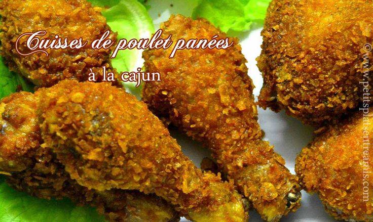 Cuisses de poulet panées à la cajun | Petits Plats Entre Amis
