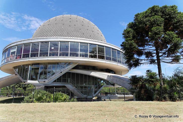 Buenos Aires Avenida Sarmiento Planetario Galileo Galilei - Argentina