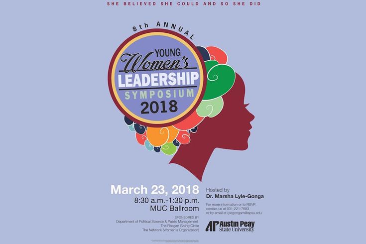 Austin Peay State University hosts 8th Annual Young Women's Leadership Symposium, March 23rd
