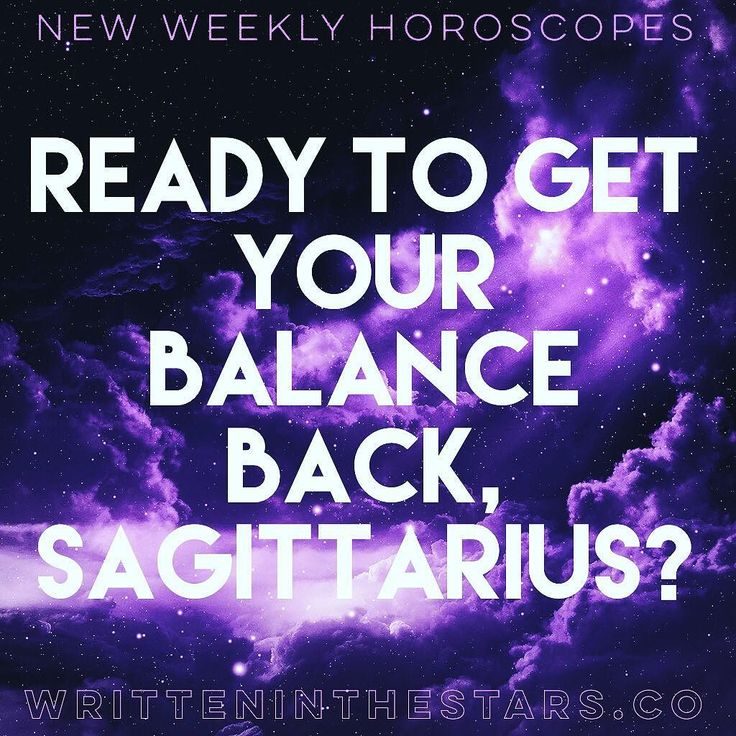 Here's your weekly #horoscope #Sagittarius! Whats #writteninthestars for you? These #horoscopes are for #SagittariusRising and #SagittariusMoon as well! Enjoy!     SAGITTARIUS  Its time to reach out and touch someone Sagittarius. The New Moon is rising in your House of Partnerships asking for a renewal and re-invigoration of your closest one-on-one contacts. Is there someone you want to re-establish contact with or introduce yourself to? Or perhaps you have a negotiation to begin. One way or…