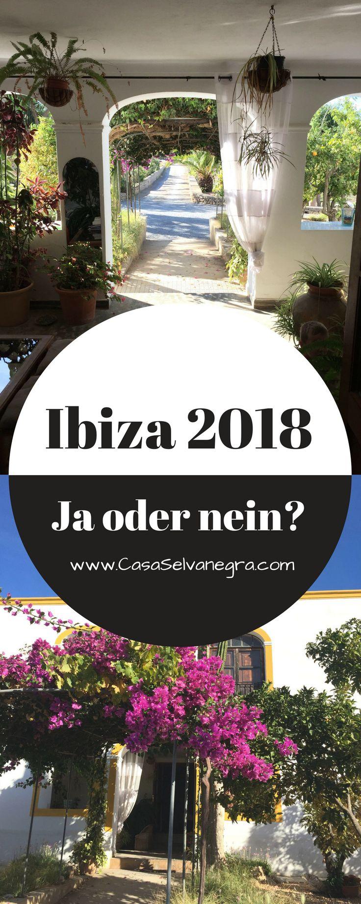 Ibiza in 2018 - ja oder nein