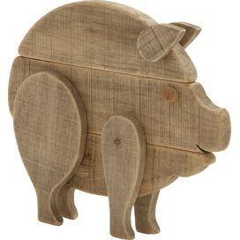 Barnyard Pig Decor