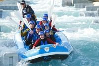 Lee Valley White Water Rafting (Olympic course, open to the public September 2012) 40 minutes outside #London. #GowithOh