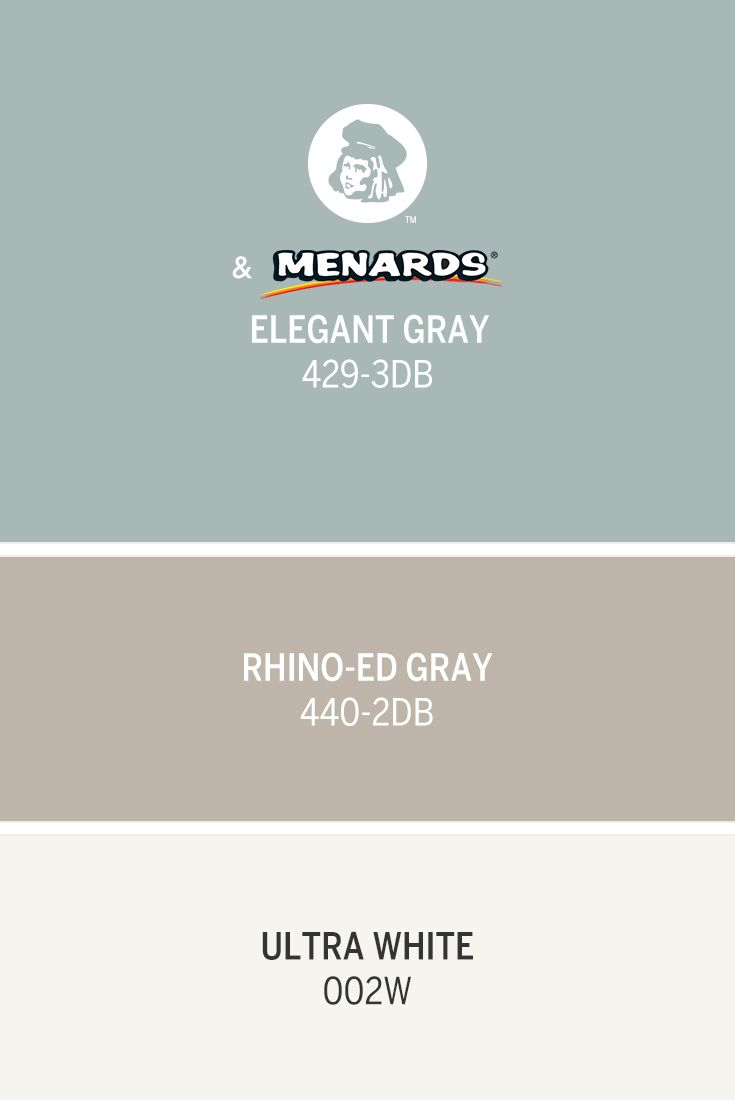 A blue-gray like Dutch Boy's May Color of the Month, Elegant Gray 429-3DB adds a sense of calming elegance to a space. Pair it with neutrals like Rhino-ed Gray 440-2DB and Ultra White 002W for a versatile style that suits any room.