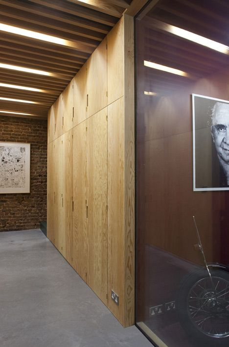 Frame House by Jonathan Tuckey Design - interior detail