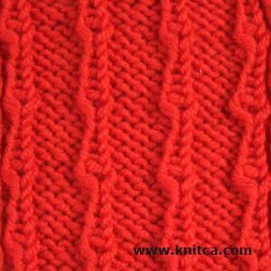 Yarn Over Knitting Patterns : 9 curated Knitting Stitches: Yarn Overs ideas by squibblybups A well, Knitt...