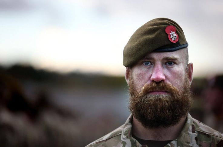 http://www.pinterest.com/pin/460774605600908361/ The Only Army Rank Allowed to Have a Beard on Parade forces.tv/42849745