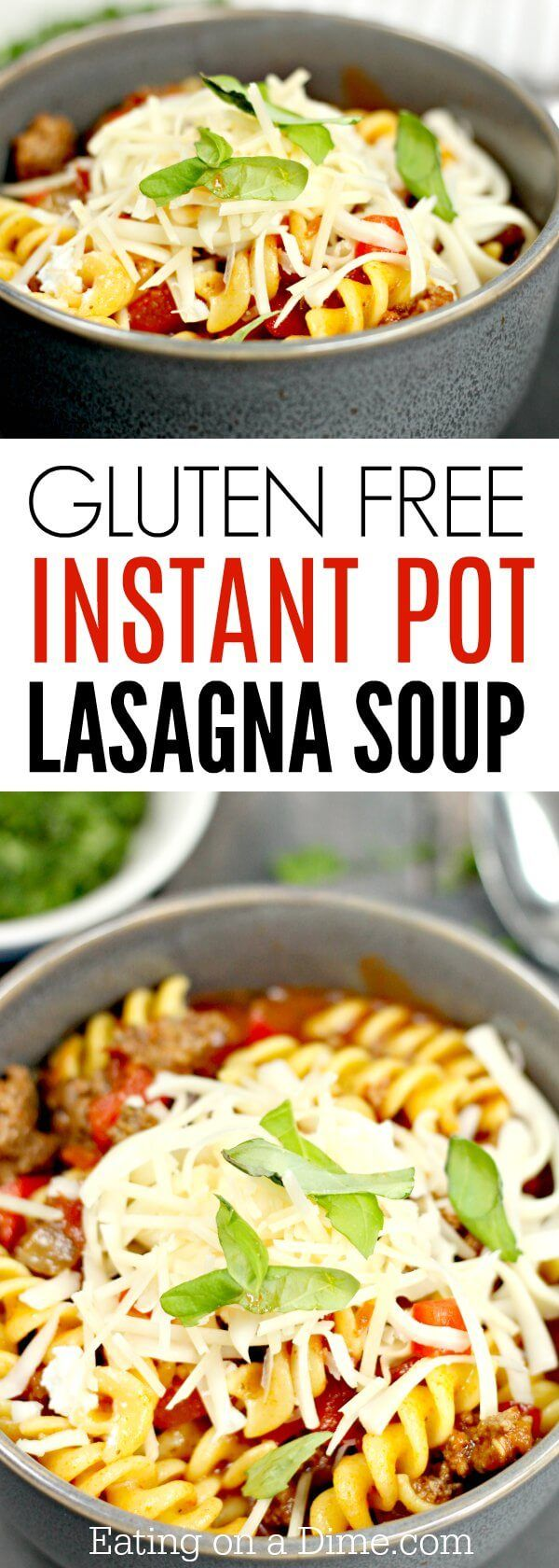 You will love this Gluten free lasagna soup pressure cooker recipe. It is so simple & tasty. Try Gluten Free Lasagna Soup Instant Pot Recipe today.