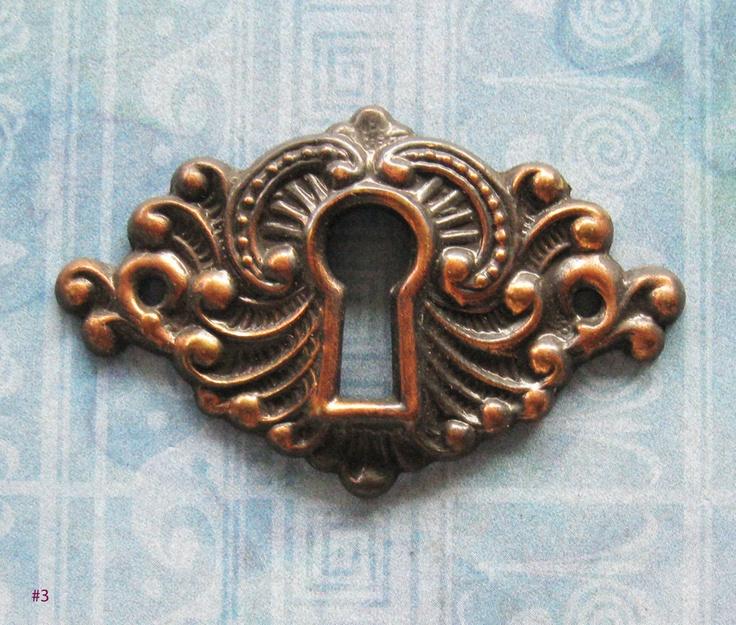 vintage key hole