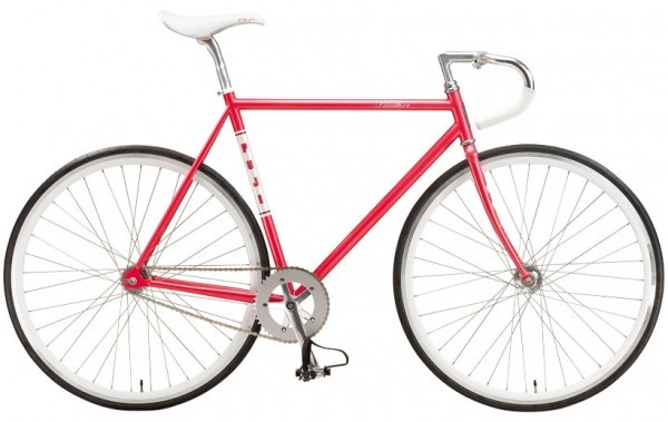 2012 Fuji Feather (fixed gear in pink)
