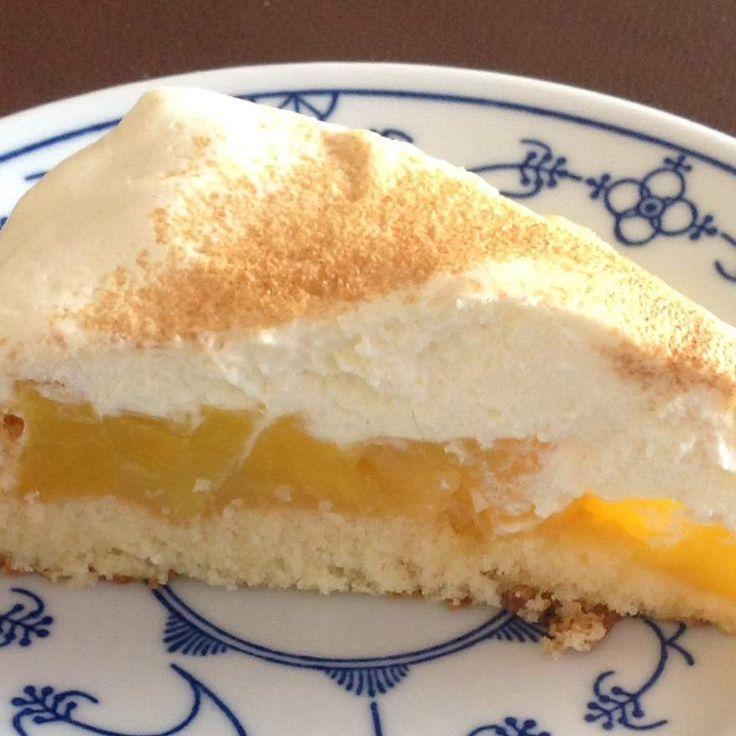 Rezept Pfirsich-Schmand-Kuchen von binekrueger - Rezept der Kategorie Backen süß