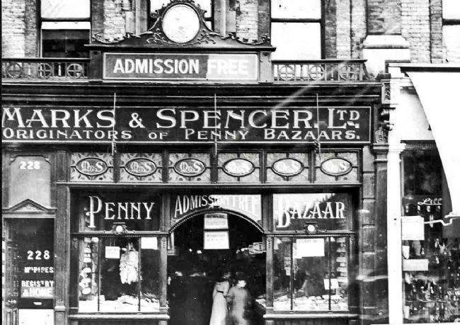 Marks & Spencer, Edgware road, 1912