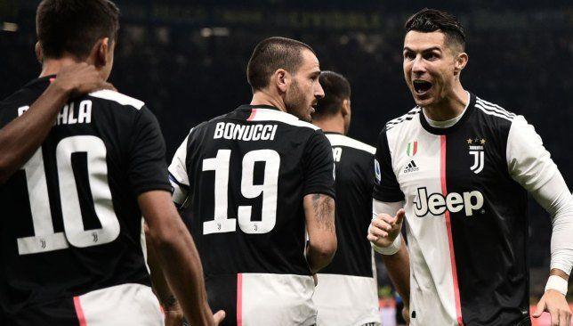 العارضة تمنع كريستيانو رونالدو من تأكيد تفوق يوفنتوس على الإنتر فيديو Juventus Cristiano Ronaldo Cristiano Ronaldo 7