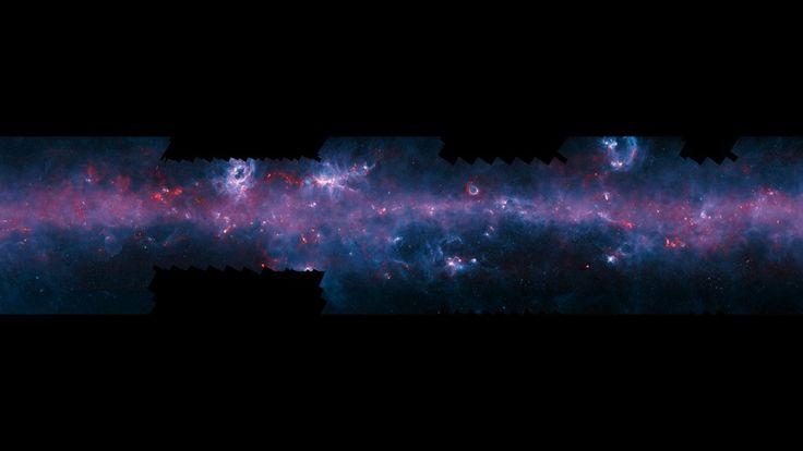 Un mapa de la Vía Láctea revela los lugares donde nacerán nuevas estrellas