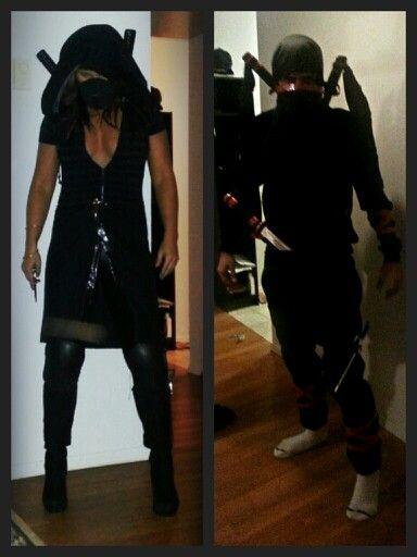 Ninja Halloween Costume Men.Female Ninja Costume Diy Www Marnicks Com