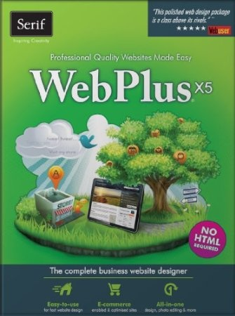 WebPlus X5 is the ultimate website design software for small businesses, organizations and home users. You don't need to know any HTML – drag-and-drop simplicity, an intuitive interface, and powerful tools help you design sites easily, even if you've never done it before. Create sites quickly using the fully editable templates or design unique sites from scratch.  Price: $32.04