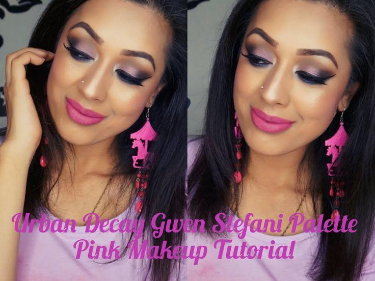 Urban Decay Gwen Stefani Palette Pink Makeup Tutorial
