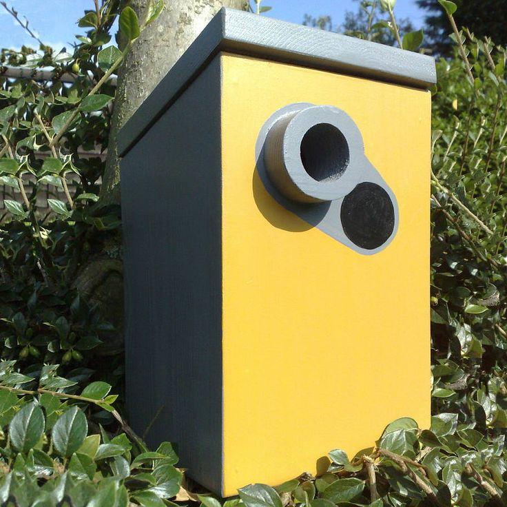 Handmade Speed Camera Bird Box By Lindleywood Bird Boxes