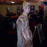 Abito rinascimentale indossato da un'hostess della fiera ExpoItalia 2013