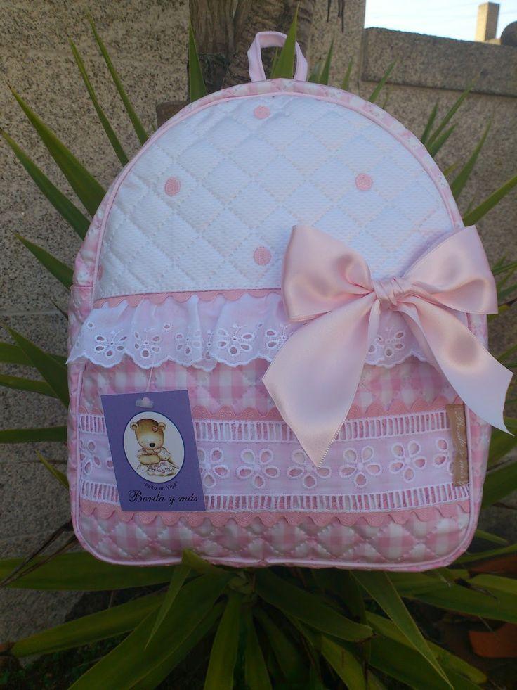 Mochila infantil - Modelo Salma en rosa