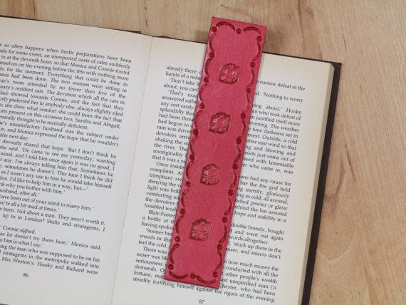 Christmas Presents Bookmark  Christmas by TinasLeatherCrafts. RepinTo Remember.
