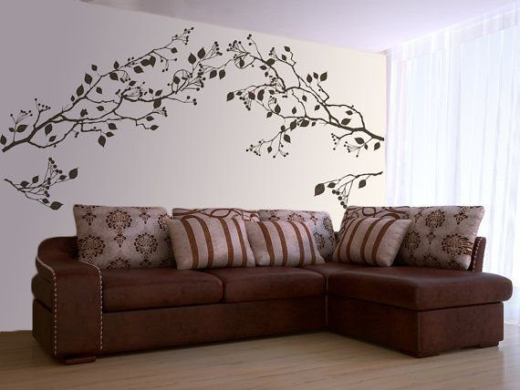 Best Wall Decals Images On Pinterest Tree Branches Vinyl - Vinyl wall decal adhesive