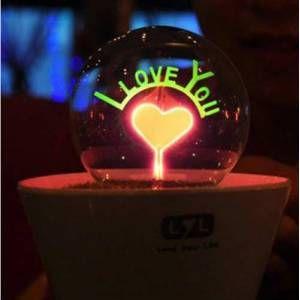 Romantik Saksı Gece Lambası - 26,39 TL #doğumgünühediyeleri