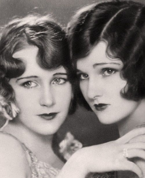 The Lane sisters, 1920s.                                                                                                                                                                                 More