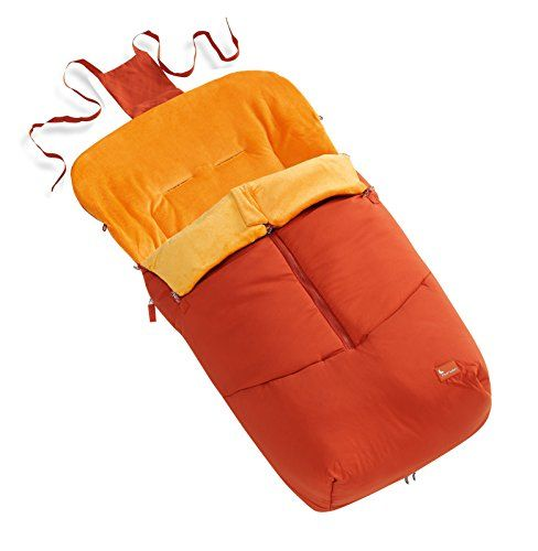 INTERBABY INTERBABY 10022 - Manta para asiento de coche, color naranja