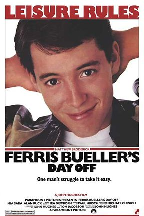 Famous movie poster for a great classic relatable teenage movie