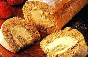 Hazelnut Cream Roll