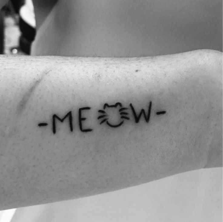 Put your love for cats in ink with these clever cat tattoos.