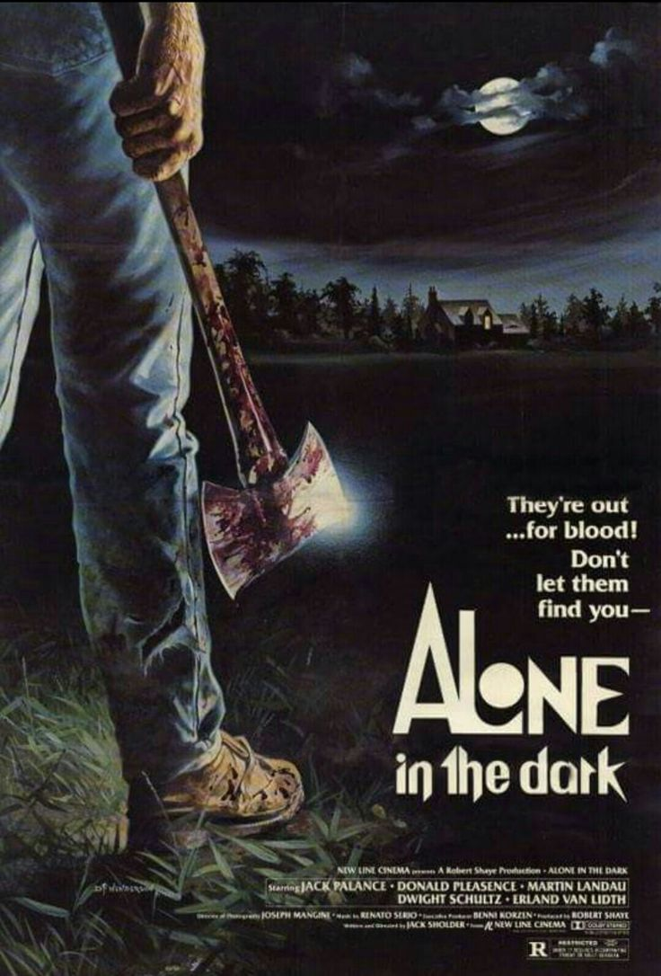 Alone In The Dark Horror Movie Poster
