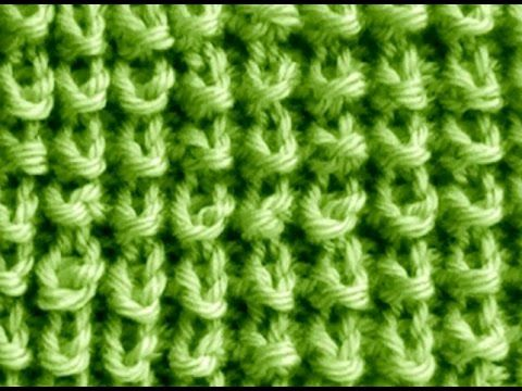 Cómo Tejer Punto ROPA BEBÉ #15 How to Knit a BABY STITCH 2 Agujas (388) - YouTube