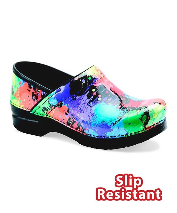 Dansko Paint Splatter Professional Nursing Clog provides the superior  support and all day comfort you look for in a nursing shoe. Shop Dansko  Nursing shoes ...