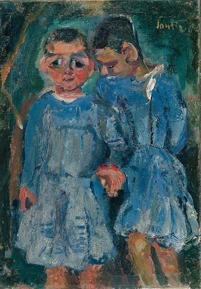 Chaim Soutine - Deux enfants