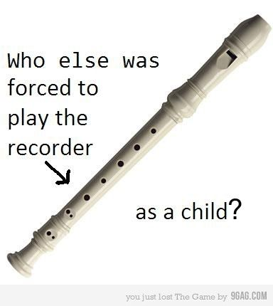 Recorder's anonymous....