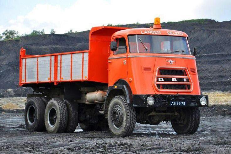 6x6 DAF dumptruck