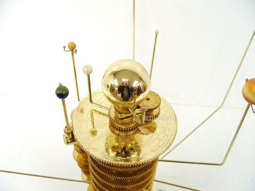 brass solar system model - photo #25