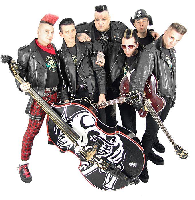 MAD SIN | Psychobilly bands, Rockabilly bands, Horror punk