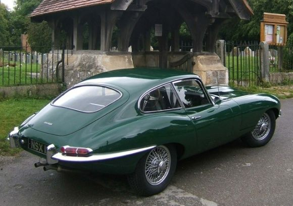#cars #coches 1963 Jaguar E-Type S1 3.8