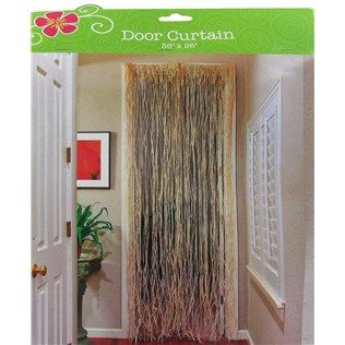 VBS 2015 Journey Off the Map - Natural Raffia Door Curtain