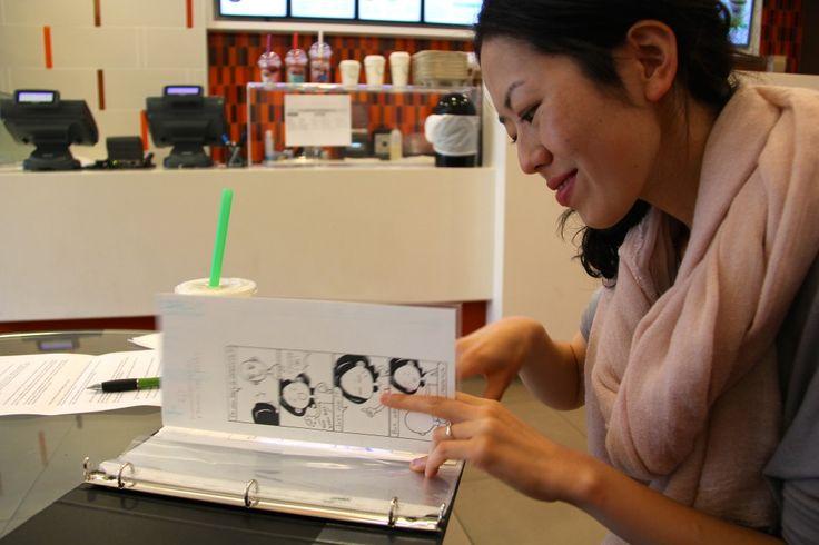 Days of Hanako #JapaneseCanadian #Asian #Toronto #cartoonist #cartoon #TheOrigami